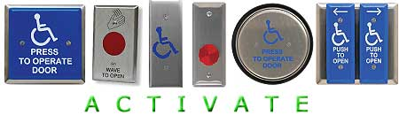 Handicap Door Push Button Activation Switches  sc 1 st  Disability Systems & Automatic Door Controls