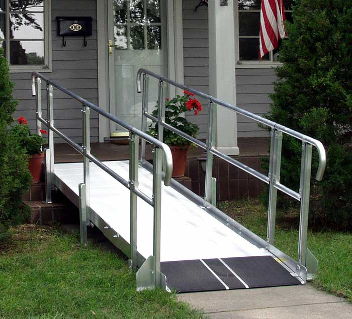Wheelchair ramps photos for Ada mobile homes