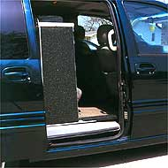 Side door van ramp