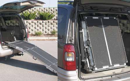 Rear Door Van R& & Vehicle / Van Wheelchair Ramp pezcame.com