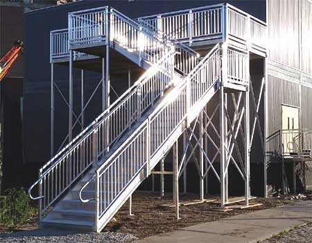 Commercial Wheelchair Ramps And Stairs